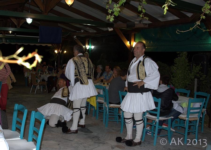 Thassos - Feiern - Tanzen - Essen