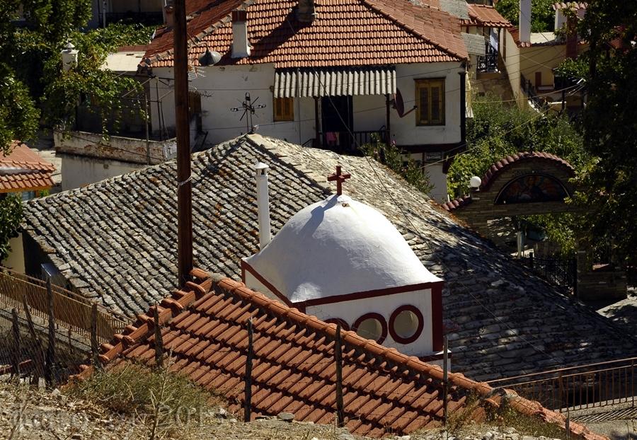 Thassos - Maries - Ein kleines Bergdorf