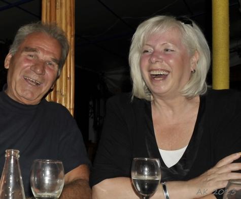 Katharina und Dimitrios Kapsalis