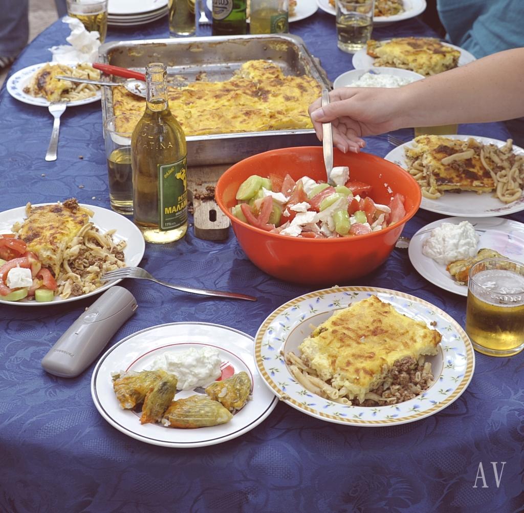 Griechische Gastfreundschaft